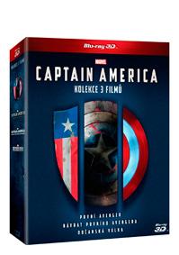 Captain America trilogie 1.-3. 6Blu-ray (3D+2D)