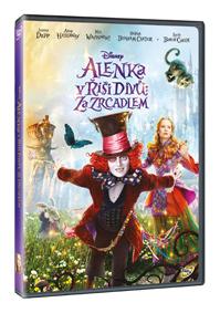 Alenka v říši divů: Za zrcadlem DVD