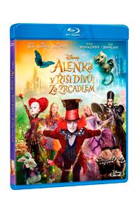 Alenka v říši divů: Za zrcadlem Blu-ray