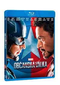 Captain America: Občanská válka Blu-ray