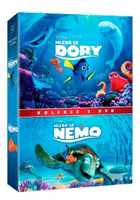 Hledá se Nemo + Hledá se Dory kolekce 2DVD