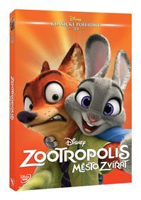 Zootropolis: Město zvířat - Edice Disney klasické pohádky DVD