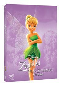 Zvonilka a velká záchranná výprava - Edice Disney Víly DVD