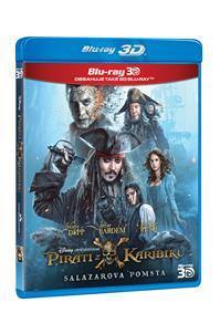Piráti z Karibiku 5: Salazarova pomsta 2Blu-ray (3D+2D)