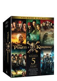Piráti z Karibiku kolekce 1.-5. 5Blu-ray
