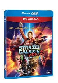 Strážci Galaxie Vol. 2 2Blu-ray (3D+2D)