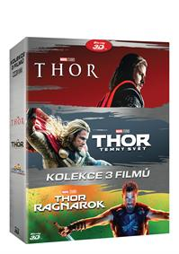 Thor kolekce 1-3 6Blu-ray (3D+2D)