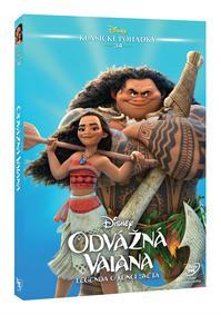 Odvážná Vaiana: Legenda o konci světa - Edice Disney klasické pohádky DVD