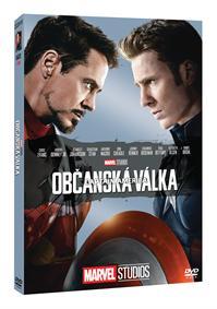 Captain America: Občanská válka - Edice Marvel 10 let DVD