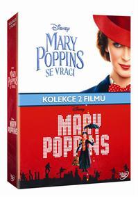 Mary Poppins kolekce 3DVD (2DVD+bonus disk)