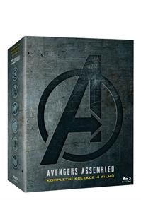Avengers kolekce 1.-4. 4Blu-ray