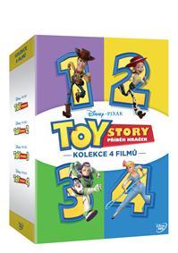 Toy Story: Příběh hraček kolekce 1.-4. 4DVD
