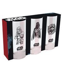 Sklenice Star Wars set 3ks