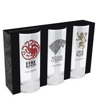 Sklenice Game of Thrones set 3ks