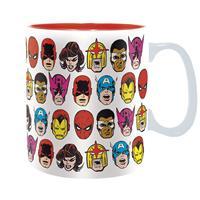 Hrnek Marvel - Marvel Heads 460 ml
