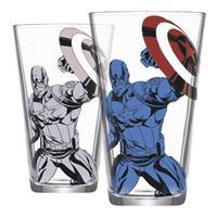 Sklenice Captain America měnící se 400 ml