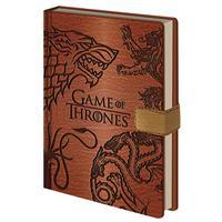 Zápisník Game of Thrones - Sigils A5
