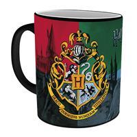 Hrnek Harry Potter - Bradavický erb měnící se 295 ml