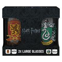 Sklenice Harry Potter - Erby set 2 ks 500 ml