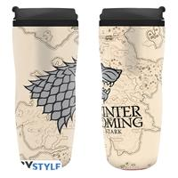Hrnek Game of Thrones - Winter is coming cestovní 355 ml