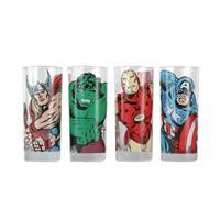 Sklenice Marvel set 4 ks