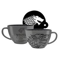 Hrnek Game of Thrones - Stark cappuccino 630 ml DVD