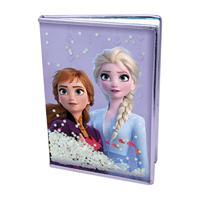Zápisník Frozen 2 - Snow Sparkles A5 DVD