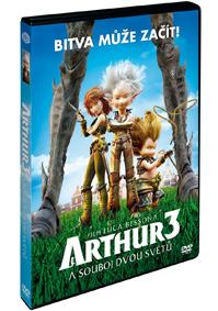 Arthur a souboj dvou světů DVD