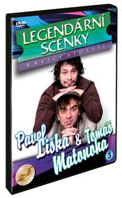 Liška, Matonoha - Legendární scénky DVD