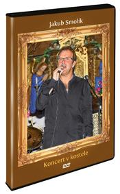 Jakub Smolík - koncert v kostele DVD