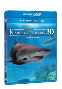 Tajemství karibských hlubin Blu-ray (3D)