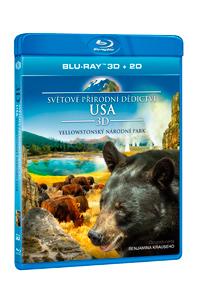 Světové přírodní dědictví: USA - Yellowstonský národní park Blu-ray (3D)