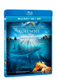 Světové přírodní dědictví: Kolumbie - Národní park Malpelo Blu-ray (3D)