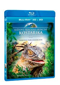 Světové přírodní dědictví: Kostarika - Národní park Guanacaste Blu-ray (3D)
