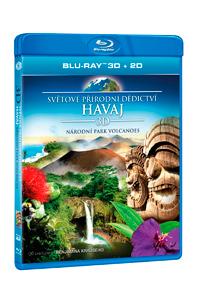 Světové přírodní dědictví: Havaj - Národní park Volcanoes Blu-ray (3D)