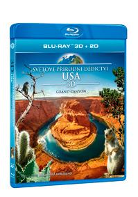 Světové přírodní dědictví: USA - Grand Canyon Blu-ray (3D)