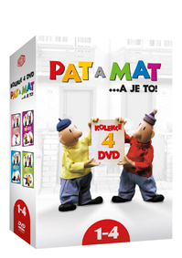 Pat a Mat 1-4 4DVD