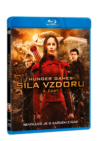 Hunger Games: Síla vzdoru 2. část Blu-ray