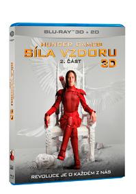 Hunger Games: Síla vzdoru 2. část 2Blu-ray (3D+2D)