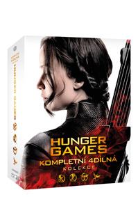 Hunger Games kolekce 1-4 5Blu-ray