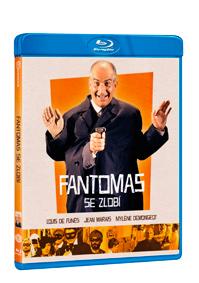 Fantomas se zlobí Blu-ray