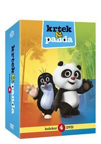 Krtek a Panda 1-4 4DVD