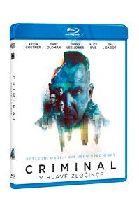 Criminal: V hlavě zločince Blu-ray