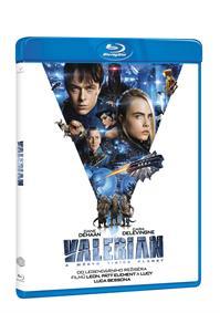 Valerian a město tisíce planet Blu-ray