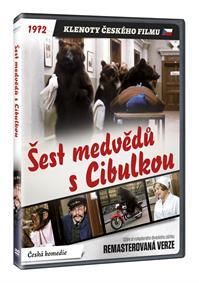 Šest medvědů s Cibulkou (remasterovaná verze) DVD