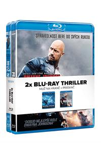 Blu-ray Thriller 2Blu-ray ( Muž na hraně + Práskač)