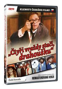Čtyři vraždy stačí, drahoušku (remasterovaná verze) DVD