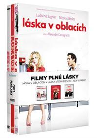 Filmy plné lásky kolekce 3DVD (Láska v oblacích, Láska všemi deseti, Sex v Paříži)