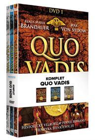 Komplet Quo vadis DVD