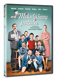 Mikulášovy patálie na prázdninách DVD